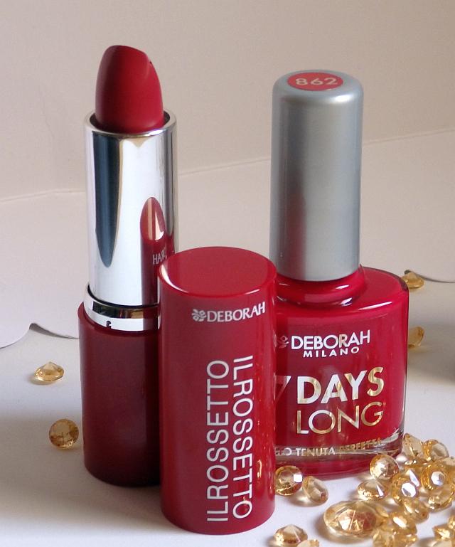 """Red Icons Collection: Encuentra tu """"rojo"""" de uñas y labios con Deborah Milano"""