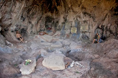 Early Humans discovered recycling