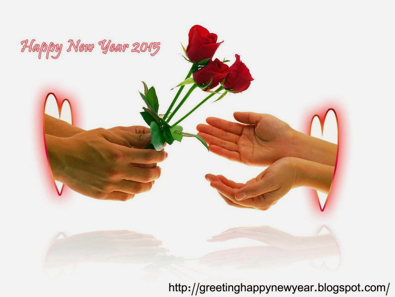 Greeting Happy New Year 2015 Backgrounds – Love Wishing Images