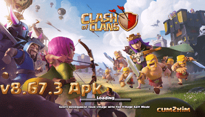 Download Clash of Clans v8.67.3 Apk Terbaru TH 11