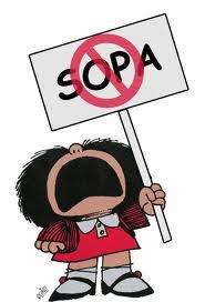 No a la ley SOPA - Enterate que es y cómo puede afectar nuestra libertad de expresión!!