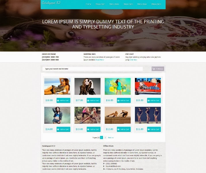 20 ecommerce blogger templates webprecis catalogspot k2 is a free shopping cart style ecommerce blogger template ideal for like online shopping based sites etc maxwellsz