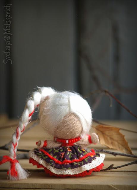 Как сделать куклу удачу