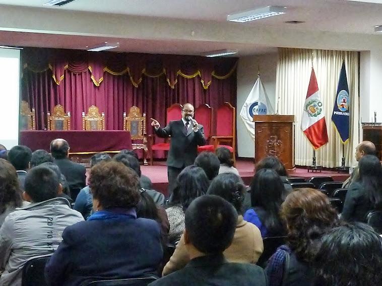 Evento de Difusión - Huaraz, Agosto 2'13