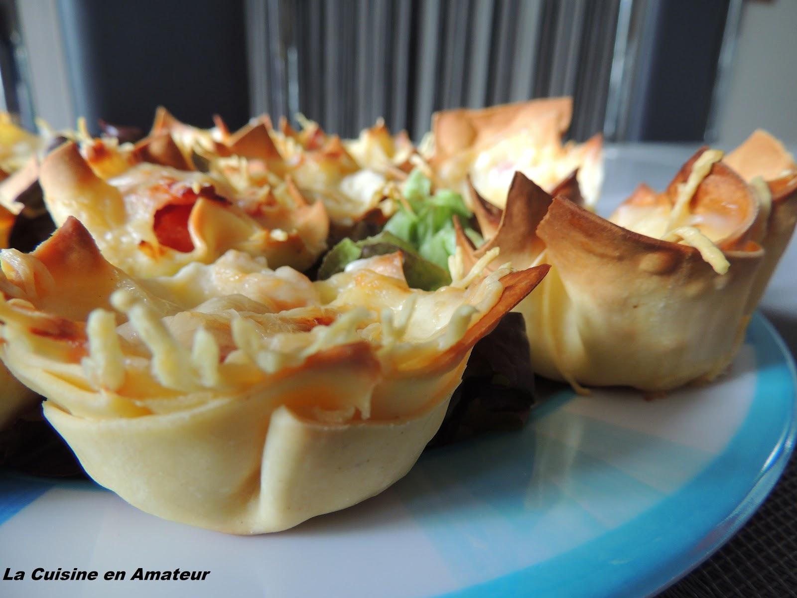 La cuisine en amateur de maryline mini bouch e de lasagnes - Canalisations bouchees que faire ...