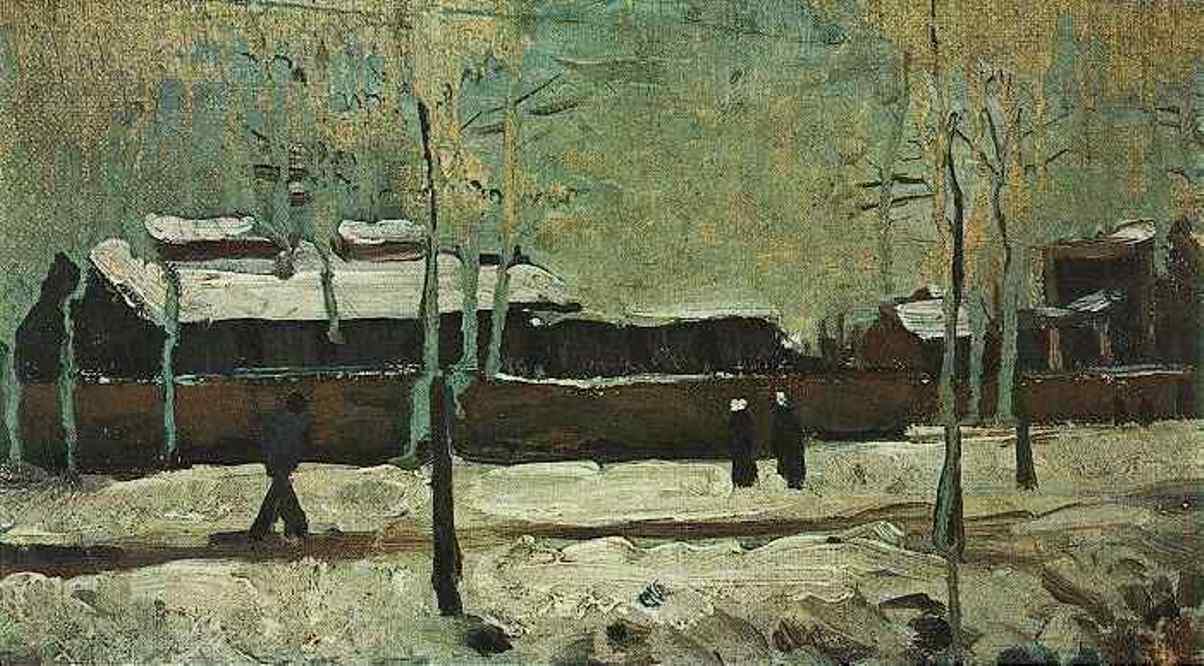 The Old Station at Eindhoven (F 67a, JH 602) by Vincent van Gogh