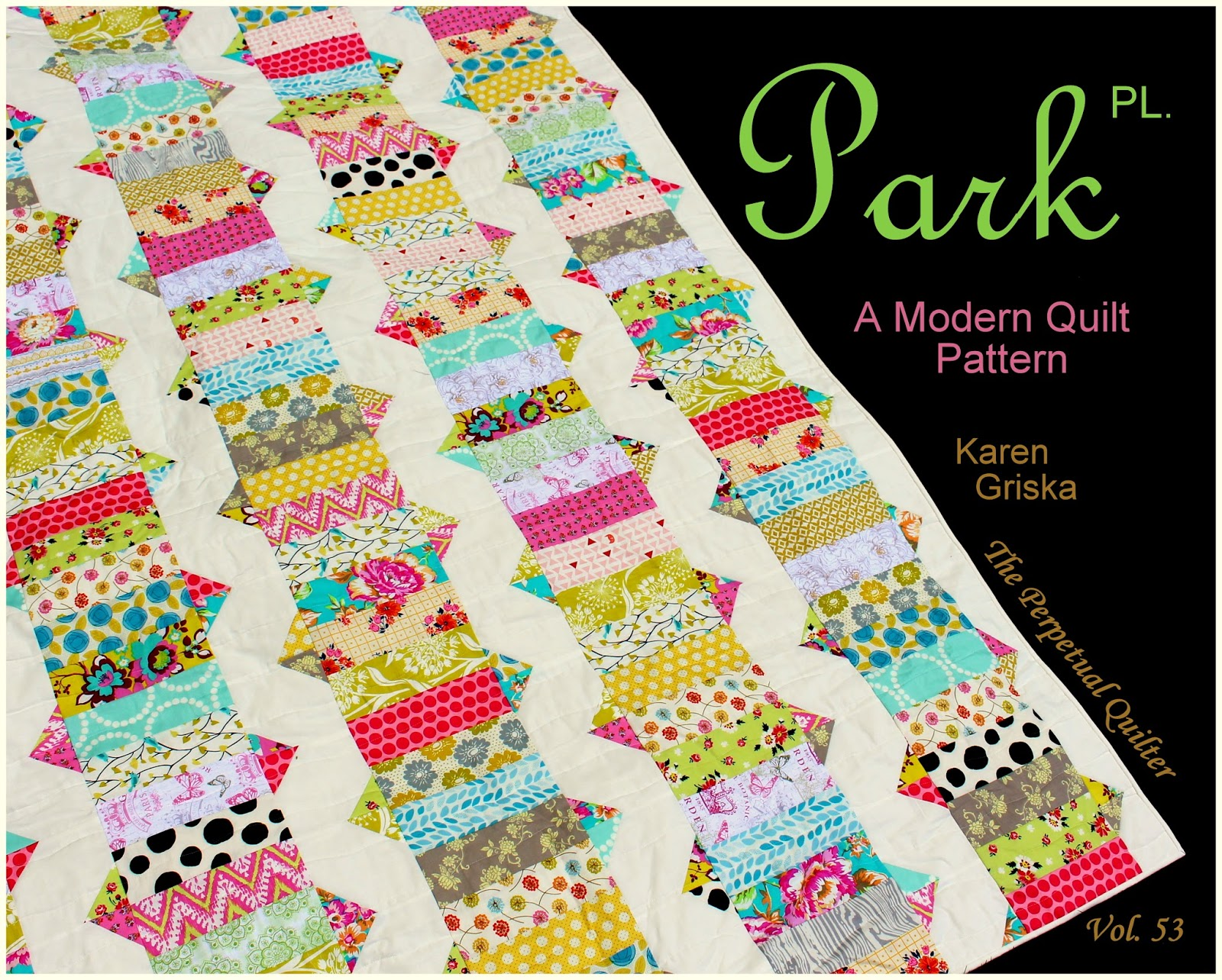 New Quilt Patterns For 2015 : Selvage Blog: New Pattern: Park Place!