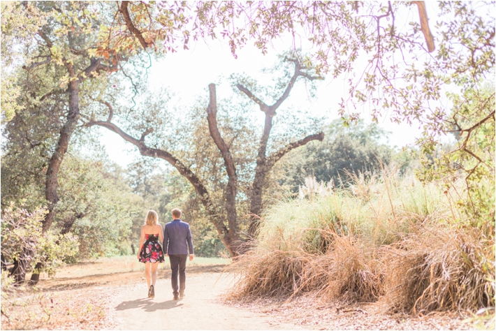 Los Angeles Arboretum Engagement Session from Dennis Roy Coronel Photography