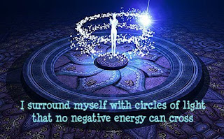 TOTM!, Time Of The Month!, circles of light, no negative energy