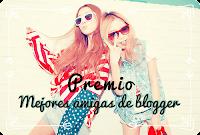 Premio Mejores Amigas Blogger.