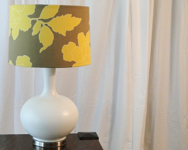 $8 Lamp Makeover