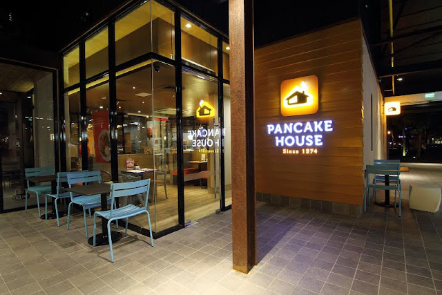 Pancake House - warm, cozy and homey. (When I am in a PH branch, I usually order their bangus meal, love it! Try also the taco, milkshake).