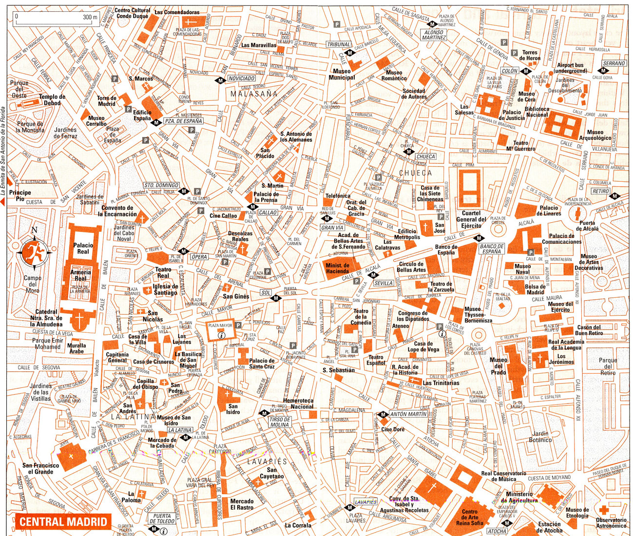 maps of dallas Map of Madrid Spain