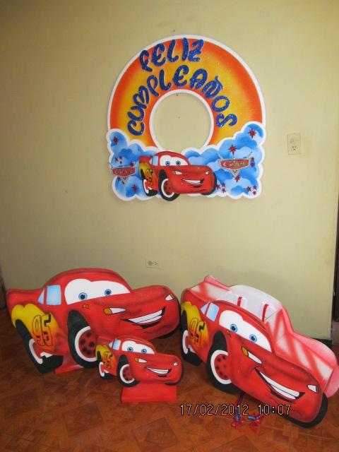 Decoracion Infantil De Cars ~ Decoraci?n de fiestas infantiles de Cars 2  Imagui