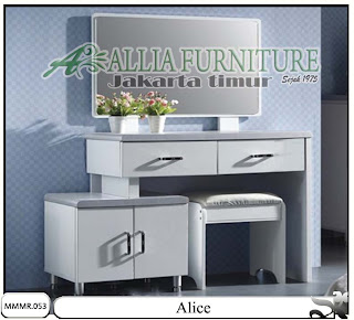 Meja rias model modern minimalis Alice