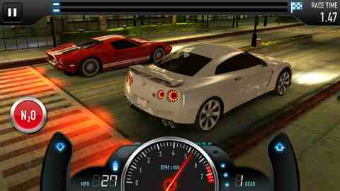 CSR Racing, iPhone Racing Games  Free Download, iPhone Applications