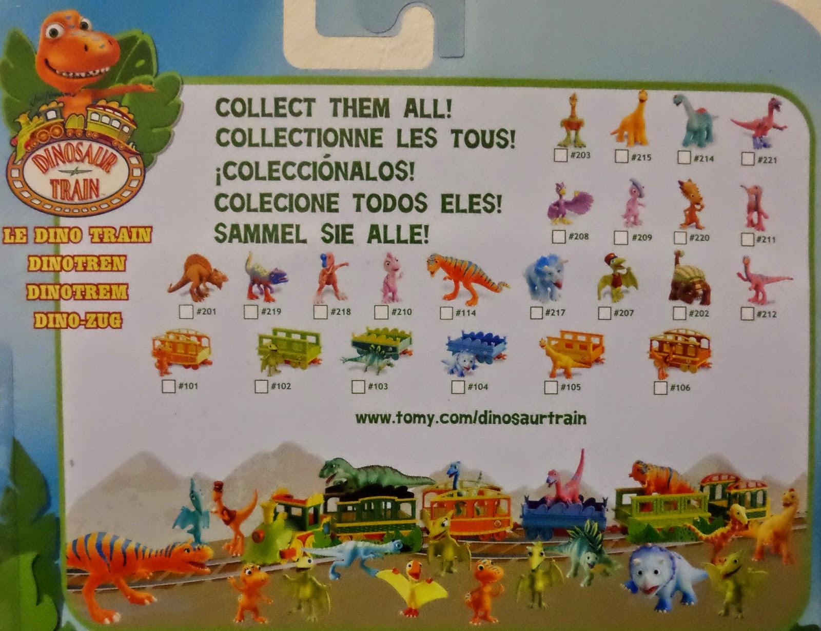 Dinosaur Train Collect Them All