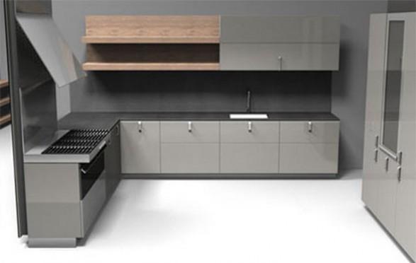C mo dise ar una cocina minimalista c mo dise ar cocinas for Muebles minimalistas para cocina