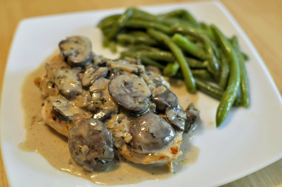 Wringing Out My Sponge: Chicken with Mushroom Cream Sauce (sugar free ...