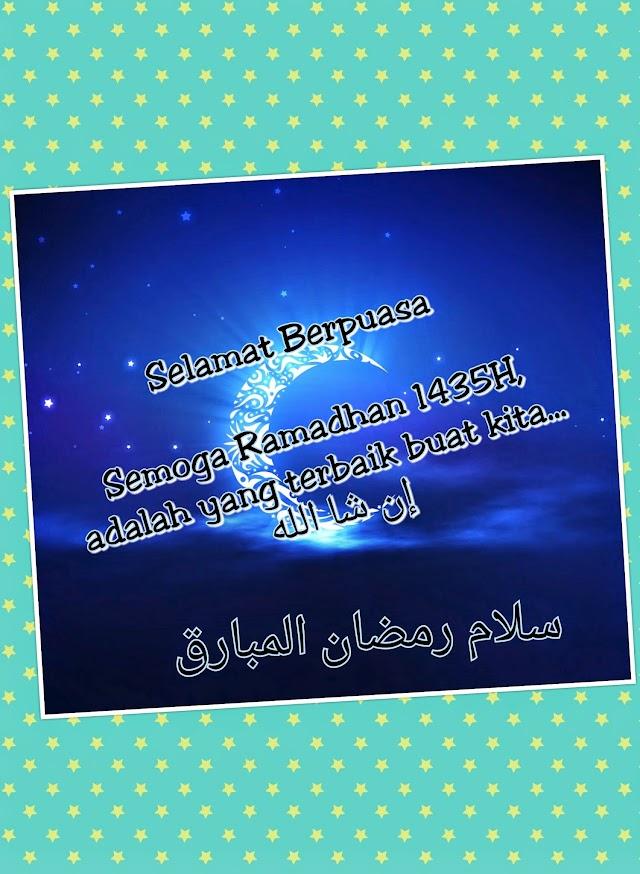 Selamat Menyambut Ramadhan al-Mubarak 1435H