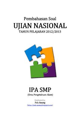 membagikan file pembahasan soal un smp 2013 untuk mata pelajaran ipa