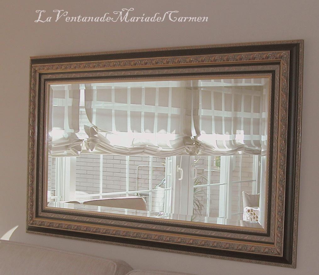 Manualidades la ventana de maria del carmen decoraci n for Todo espejos