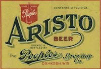 Peoples Aristo Beer