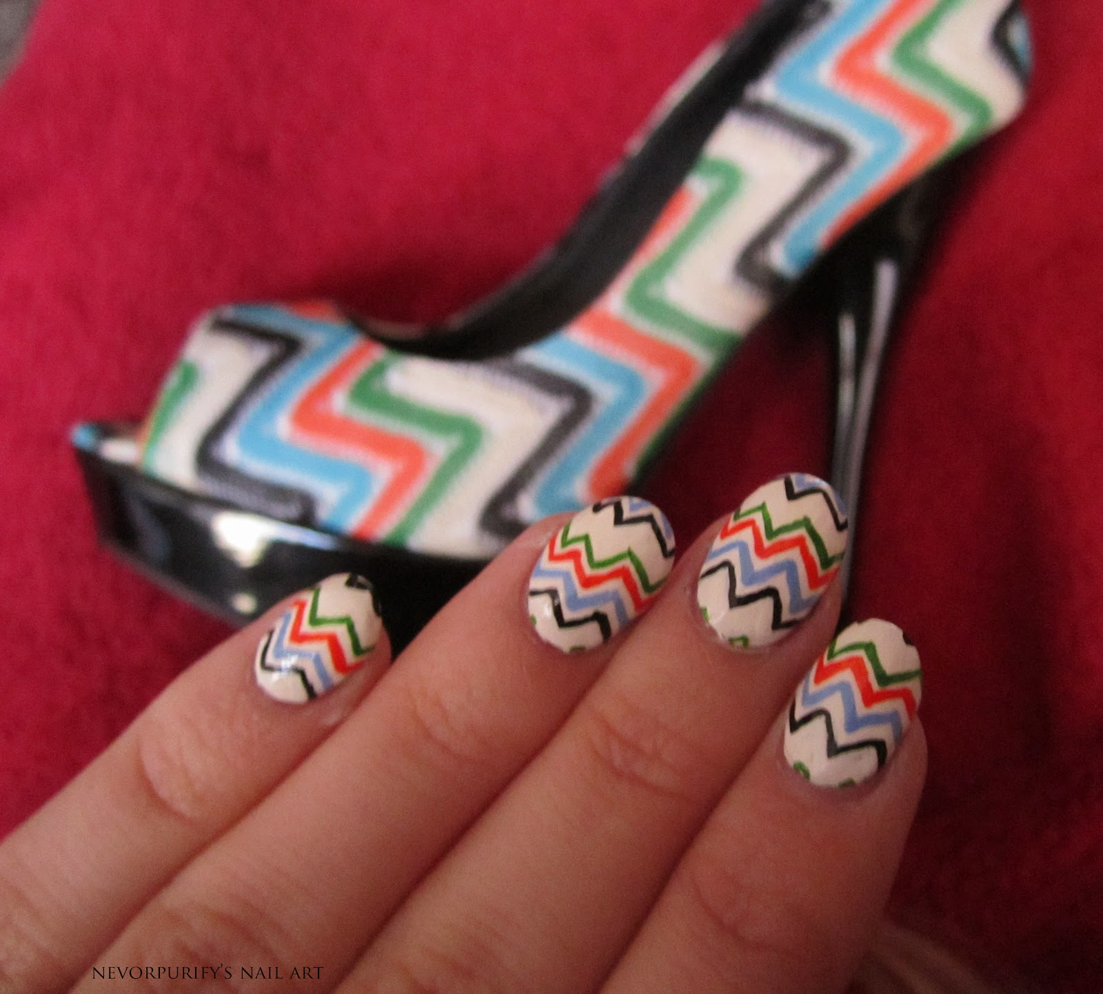 Wedding Shoes | Nevorpurify\'s Nail Art