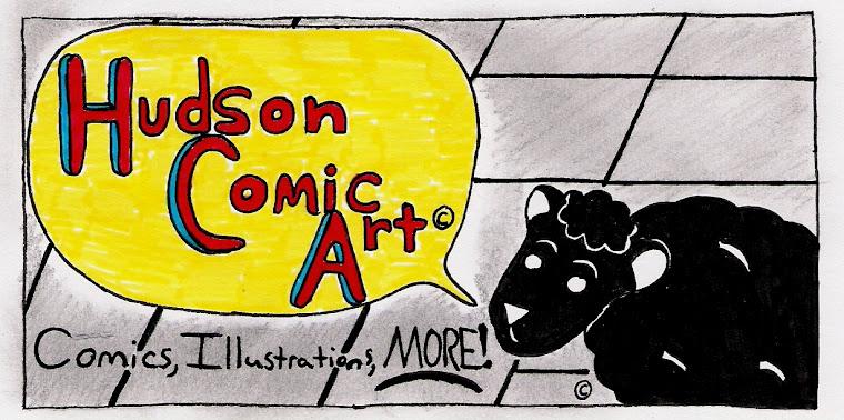 Hudson Comic Art