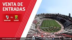 El martes 25 comienza la venta de entradas:  River vs Guaraní