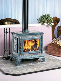 Wood fired heating and cooking high efficiency heating for Count rumford fireplace