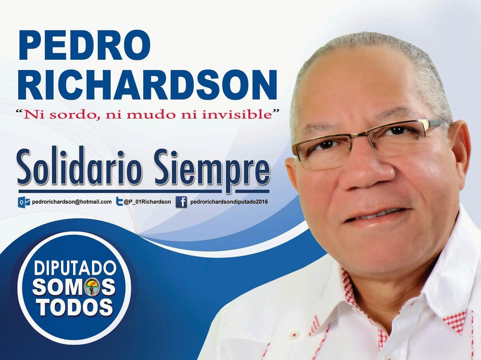 PEDRO RICHARDSON DIPUTADO