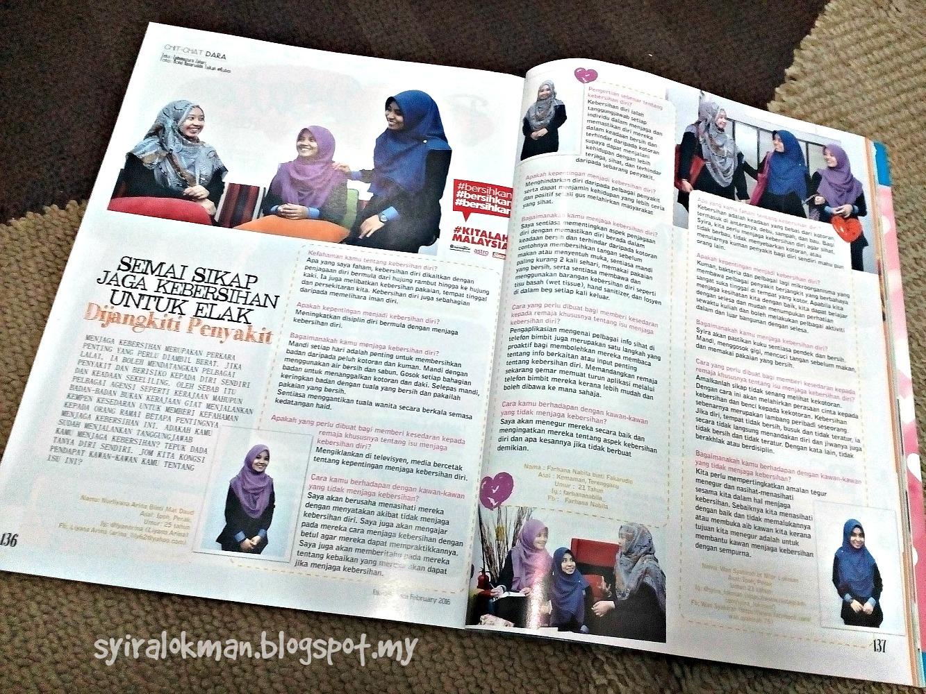 Majalah Dara Februari 2016