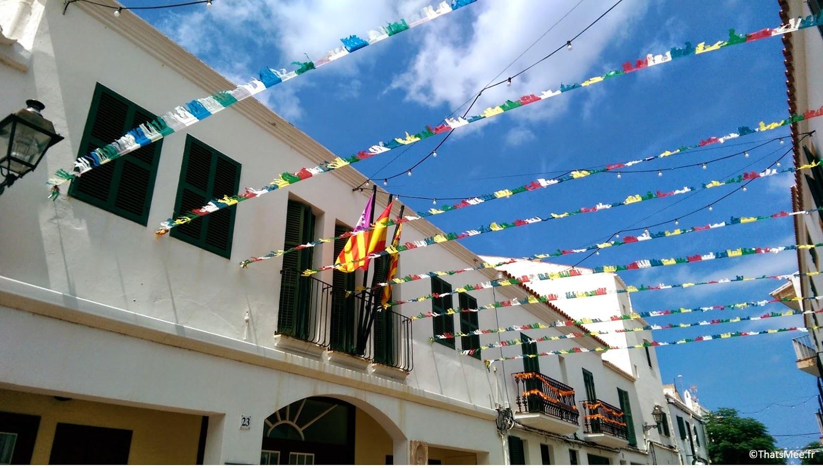 rues de Fornells Minorque Menorca calderata plat typique local