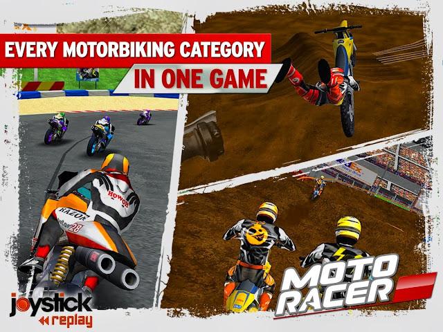 Moto Racer 15th Anniversary games screenshoot