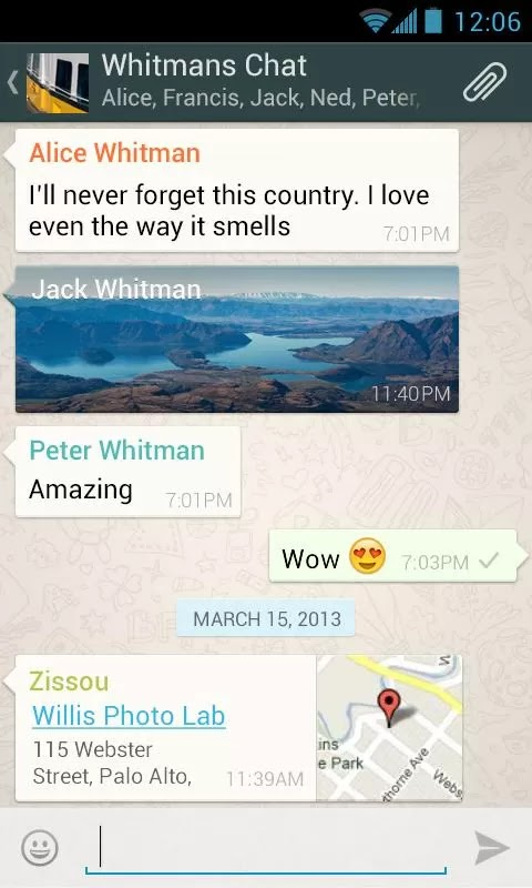 WhatsApp Messenger v2.11.36