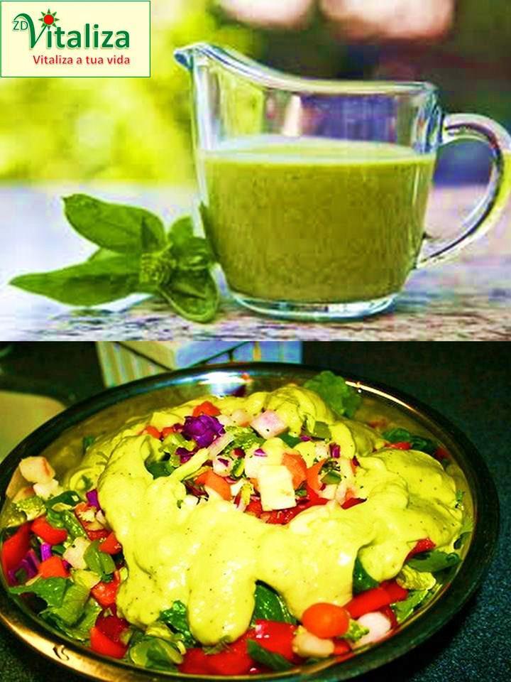 salada molhos