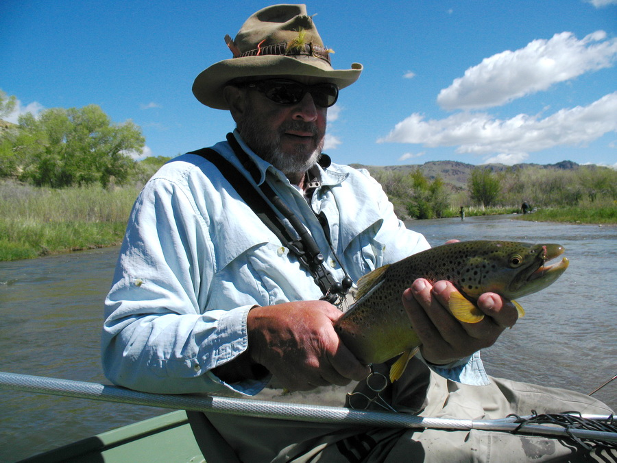 Chuck robbins outdoors fly fishing beaverhead r d trip for Beaverhead fishing report