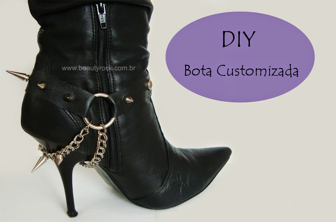 DIY: Bota Customizada