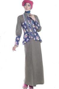 Esme Gamis E-010412 - Hijau TNI Biru (Toko Jilbab dan Busana Muslimah Terbaru)