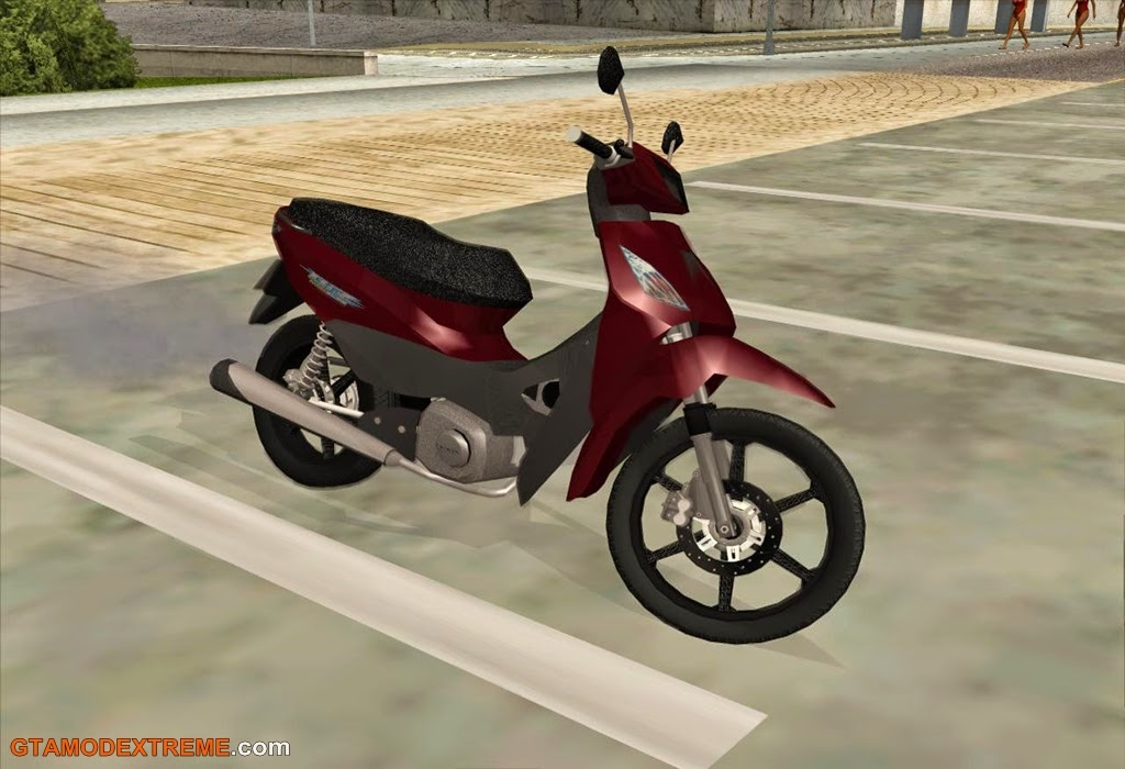 Baixar moto Honda Biz 125 Para GTA San Andreas