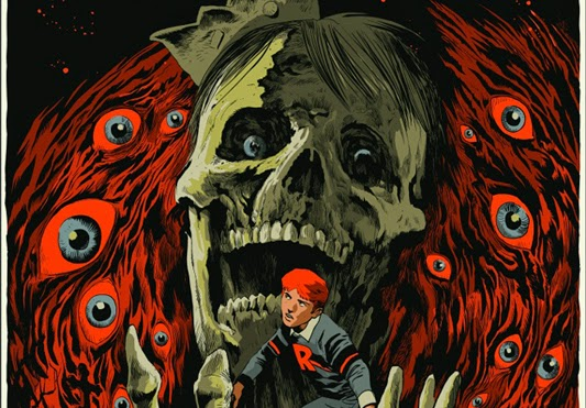 Afterlife With Archie by Francesco Francavilla & Night of the Living Deadpool by Jay Shaw & Mondo - Zombie of the Week