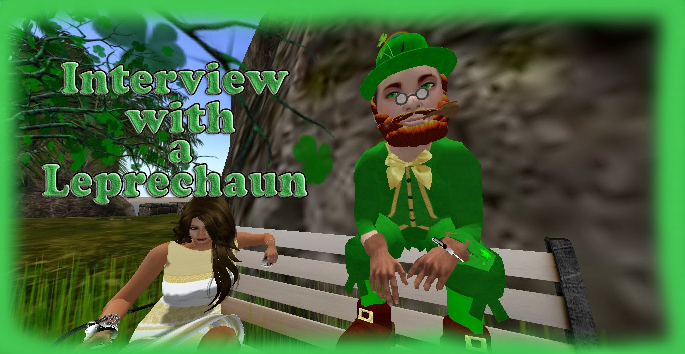 Interview with a leprechaun lanai jarrico reporting the sl every year i like to track and find holiday mascots in second life and interview them of them all the leprechaun seems to be the most elusive thecheapjerseys Choice Image