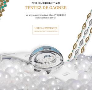 800€ d'accessoires à gagner dont une montre de luxe