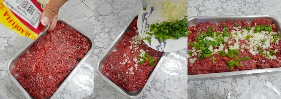 receita facil de hamburguer caseiro