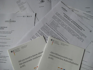 German visa requirements