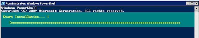 Instalación de Windows Features