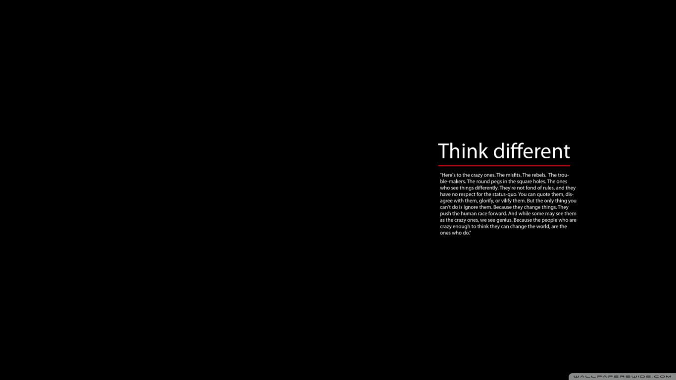 amazing world internet business and think different wallpaper