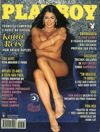 Kátia Reis - Playboy 1995