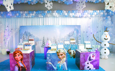 Tudo para sua Festa Frozen - Dicas Grupo Ágata